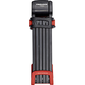 Trelock FS 300/100 Trigo Folding Lock red